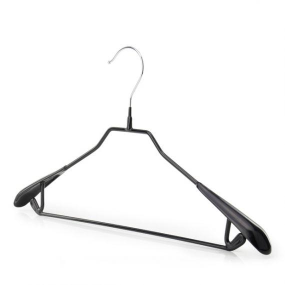 Vinyl Coated Metal Trouser Bar Hangers  43cm - Qty 60
